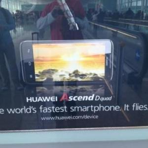 MWC 2012:Huawei、クアッドコアCPUを搭載したAndroidスマートフォン『Ascend D quad』『Ascend D quad XL』を発表