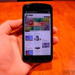 MWC 2012:富士通のクアッドコアTegra 3を搭載したAndroidスマートフォンのデモ映像