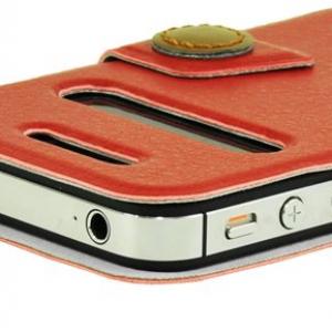 2窓式! カバーを開けずに通話や音楽再生ができる『LUXA2 Lille iPhone4/4S Case』