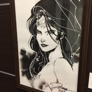 「DCコミックス」のすごい人! ジム・リーさんに『ワンダーウーマン』を描いてもらったよ