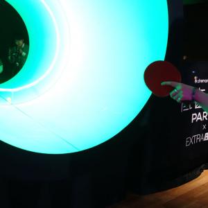 スピーカーの中に入って卓球しているような『低音卓球』 ソニー『EXTRA BASS』発売記念で開催中