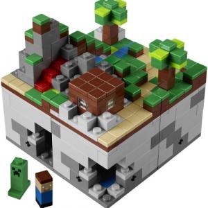 大ヒットインディーズゲーム『Minecraft』の『レゴ』がユーザー提案の商品化プロジェクト『LEGO CUUSOO』で予約開始
