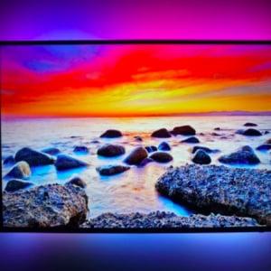 視聴体験をアップグレード!コンテンツを認識して色鮮やかに輝くテレビ背面LEDライトセット「AmbiVision 4K」