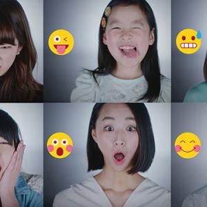 SNSの絵文字と同じ表情できる? 資生堂『表情プロジェクト』がチャレンジ動画を公開