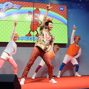 【中毒性あり】ラッキィ池田振付け 子どもが踊りだしそうな『おばかなソーセージ体操ドキハラ第一』[動画]