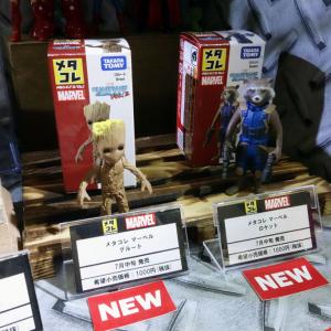 【東京おもちゃショー2017】新しい『メタコレ マーベル』は『ガーディアンズ・オブ・ギャラクシー:リミックス』と『スパイダーマン:ホームカミング』が追加