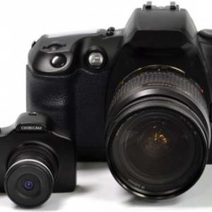 一眼レフデザインに質感をプラス! メタルボディのミニトイカメラ『Super CHOBi CAM ONE』