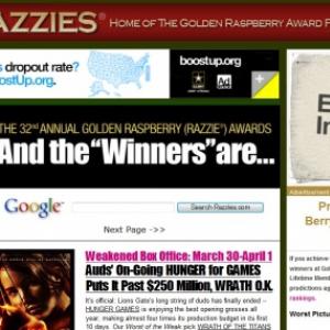 第32回ゴールデンラズベリー賞が決定 今年はこの作品が各賞を席巻!!