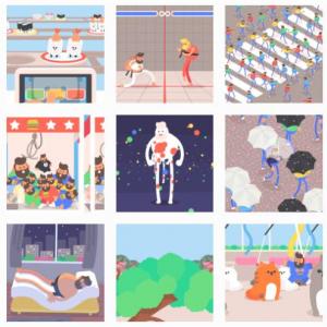 『Tokyo Gifathon』 1か月の滞在中に毎日GIFアニメを制作した外国人の目に映った東京