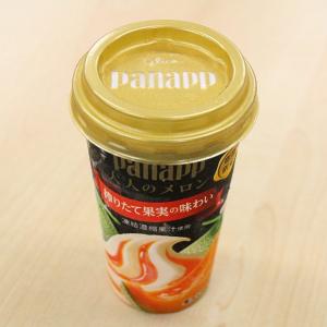 【コンビニアイス全レビュー】本格的なメロン果汁に舌鼓! グリコの期間限定『パナップ <大人のメロン>』