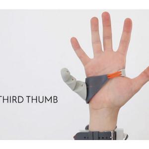 五本指だけでは満足できないあなたに!3Dで作った「3本目の親指」が登場
