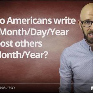日付ってなんでアメリカは「月/日/年」でイギリスは「日/月/年」なの? 日本は「年/月/日」だからややこしいったらありゃしない