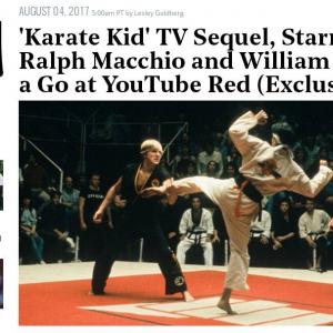 映画『ベスト・キッド』が30年以上の時を経て『YouTube Red』で復活 ついでに主役を演じたラルフ・マッチオまで復活