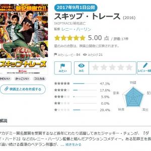 【Yahoo!映画ユーザーが選ぶ】今週末みたい映画ランキング(8月31日付) ジャッキー・チェンのアクションコメディーも登場