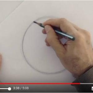 手書きで完璧な丸を描くライフハック 「何の役に立つの?」と突っ込まれそうですが