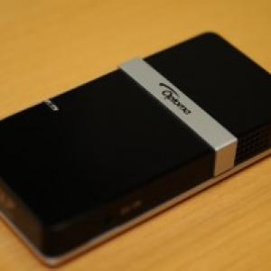ミニブーム到来!Optoma pocket projector PK101レビュー