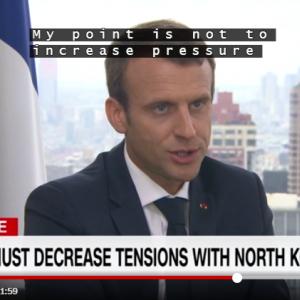 朝日新聞か安倍首相がフランス大統領の言葉をでっち上げた話。