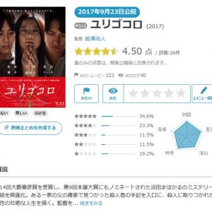 【Yahoo!映画ユーザーが選ぶ】今週末みたい映画ランキング(9月21日付) 吉高由里子が殺人者を演じる『ユリゴコロ』など期待の邦画が続々公開