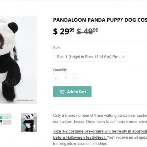 世界が悶絶!? 犬に着せるパンダコスチュームが超カワイイ!!