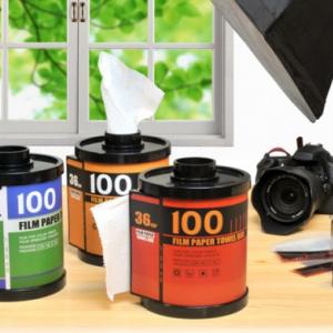 36枚撮りではない!? 35mmフィルムをモチーフにした便利なティッシュホルダー