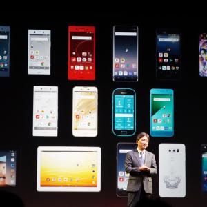 2画面スマホ『M』や『Galaxy Note8』『Xperia XZ1』などスマートフォン11機種とタブレット2機種を発表 ドコモ2017-2018年冬春モデル発表会レポート