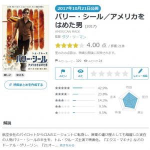 【Yahoo!映画ユーザーが選ぶ】今週末みたい映画ランキング(10月19日付) トム・クルーズ主演の『バリー・シール』など話題作が続々公開!