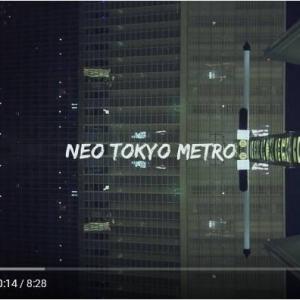 ゆりかもめで撮影した万華鏡のような東京の夜景動画『Neo Tokyo Metro』 映像と音楽の融合が非常に心地良い