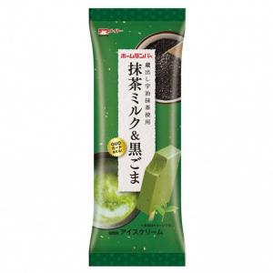 あの「ホームランバー」から新フレーバー「抹茶ミルク&黒ごま」登場!