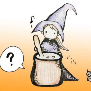 魔女が鍋でグツグツ煮込んでいるものは……実はビールだった!?