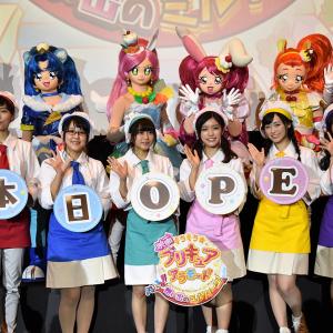 『映画キラキラ☆プリキュアアラモード』キャスト6人揃って登場!スイーツの思い出に1年の絆が見えた!? 舞台挨拶レポート