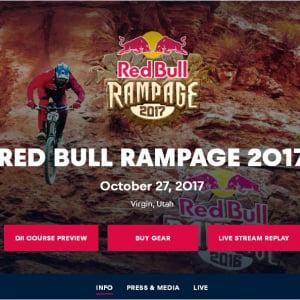 FPS(ファーストパーソン・シューター)じゃなくてFPR(ファーストパーソン・ライダー)!? 『RedBull Rampage 2017』で撮影された一人称視点のレース動画がド迫力な件