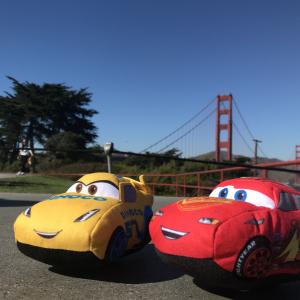 マックィーン&クルーズを連れてサンフランシスコ『ピクサー』本社に行ってきた