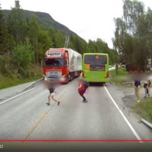 動画:ありえないほど短い制動距離で事故を神回避! 最新の自動ブレーキすげえ!