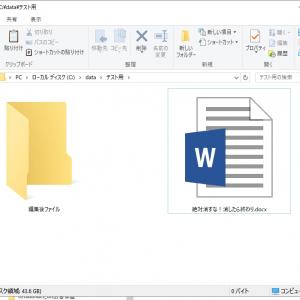 Windows10でファイルコピー後のCtrl+zは危険! 完全にファイルが消えるぞ