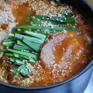 【うま辛】今日から一人鍋の具には「明太子」を全力でおすすめしたい!「ニラ明太チゲ鍋」