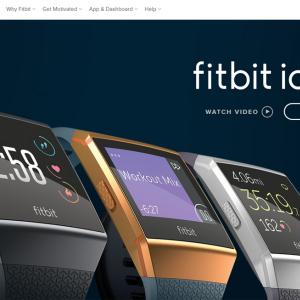 1月発売予定のスマートウォッチ『Fitbit Ionic』がAmazonのサイバーマンデーセールで先行販売中