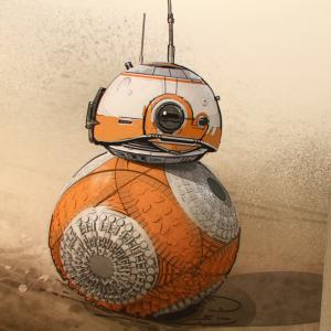 """SW制作スタジオ訪問その1:「初期構想は頭に翼が生えていた」""""BB-8""""をデザインしたスタッフを直撃!"""