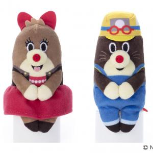 NHKの人気番組『ねほりんぱほりん』商品化 座るぬいぐるみで番組再現もできそう!
