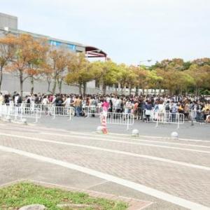 【超会議】『ニコニコ超会議』列は昼過ぎもまだまだ続く! 客は苛立ちブーイング