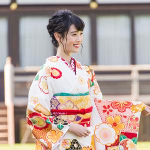 高橋ひかるさんの晴れ着姿(オスカー晴れ着撮影会2018)―新春ガジェット女子