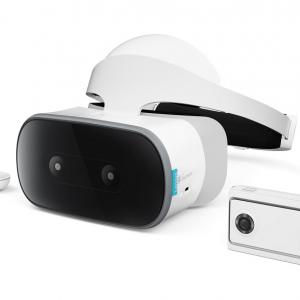 レノボが2眼式で前方180°を撮影するVR180対応カメラ『Lenovo Mirage Camera』とスタンドアロンVRヘッドセット『Lenovo Mirage Solo』を発表