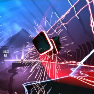迫りくるビートをライトセーバーで斬りまくれ ジェダイ気分を味わえるVRリズムゲーム『Beat Saber(ビート・セーバー)』