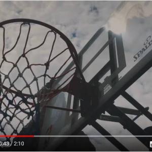 動画:マジかっ! 200メートルの高さからバスケのシュートを決める神技
