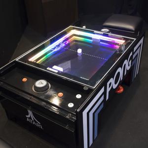 JAEPO2018:伝説のビデオゲーム『PONG』が現代に復活! 今夏タイトーからアーケード版も登場!!