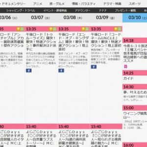 東日本大震災から7年 各局が東日本大震災の番組を放送 その時テレビ東京は