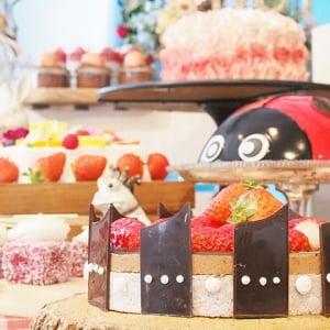 てんとう虫のケーキ&ストロベリーシフォンケーキがインスタ映え抜群! ヒルトン東京お台場で「いちごに恋するガーデンパーティー」開催中