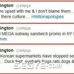 「犬肉は売るのに米国産牛肉は売らない」豪プロゴルファーのつぶやきに韓国人激怒