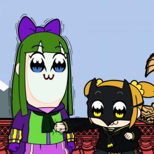 ついに山寺宏一がポプ子に!『ポプテピピック』×『ニンジャバットマン』コラボCM解禁