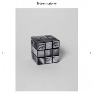"""人間の顔を完成させるルービックキューブ 人間の想像力の源を追い求める日本人アーティスト""""Kensuke Koike""""の最新作"""