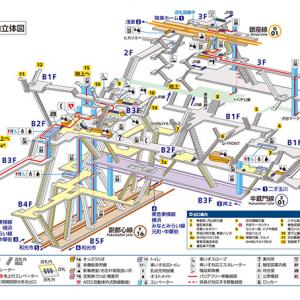 ゲームのダンジョン? エッシャーのだまし絵? 東京メトロ渋谷駅の構内図が複雑すぎる